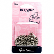 Bag Chain - 120cm - Nickel - H4513.NK